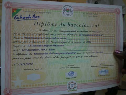 Sécurité des diplômes: Un nouveau formulaire pour le Baccalauréat burkinabè