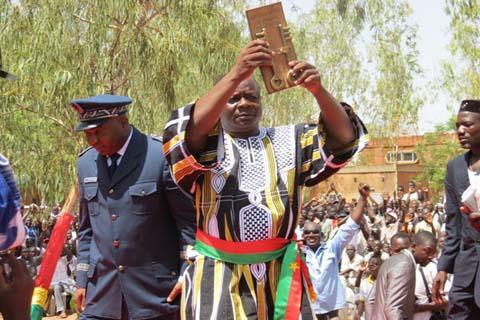 Arrondissement N°4: Le maire Anathole Bonkoungou enfin installé dans ses fonctions