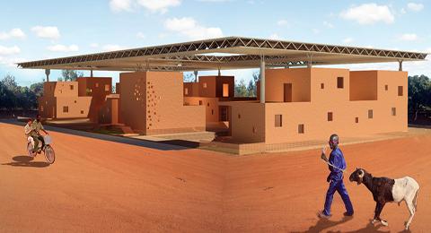 Concours Archigénieur Afrique  2012: «Baobab  urbain» du duo tuniso-burkinabè remporte le 1er prix