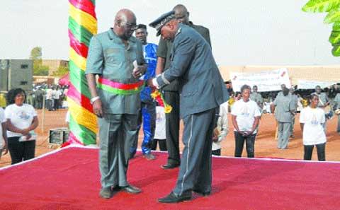 Arrondissement n°10 de Ouagadougou: Le maire N'Daoguin Basile Kaboré entame son premier mandat