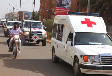 Semaine de la Croix –Rouge Burkinabè: Une grande parade pour tout clore en apothéose