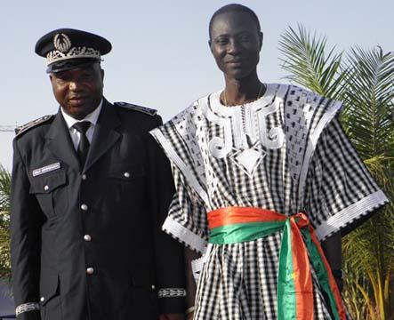 Arrondissement N°1 de Ouagadougou: Le maire Edgard Antoine Compaoré installé dans ses fonctions