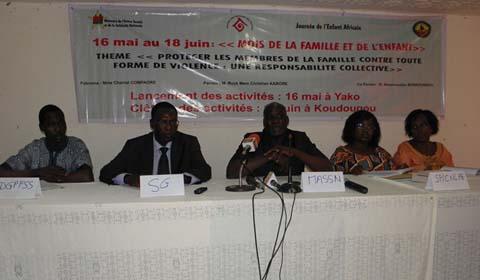 Ministère de l'Action sociale et de la solidarité nationale: Célébration du «mois de la famille et de l'enfant»