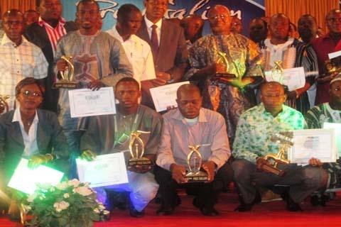 16e édition des prix Galian: Les meilleurs journalistes de l'année 2012 récompensés