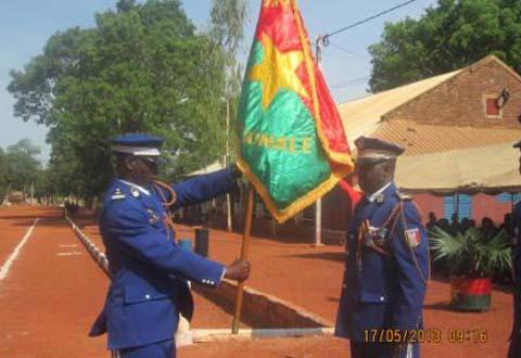 Ecole nationale des sous-officiers de gendarmerie: Le capitaine Koudbi Florian Théophile Tago aux commandes