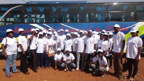 Caravane stop excision 2013: La jeunesse au cœur de l'action pour l'atteinte de la tolérance zéro