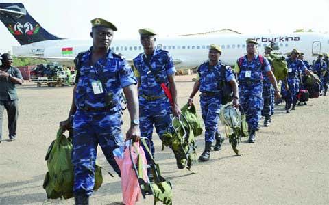 Soutien à la paix en guinée-bissau: Des gendarmes burkinabè rentrent au bercail, après une «mission à succès»