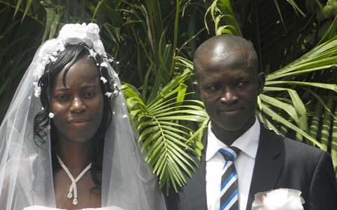 Jean Paul Toé et Larissa Bonkoungou: Désormais unis par les liens du mariage