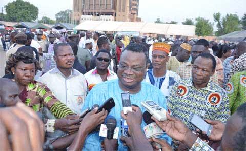 Congrès pour la Démocratie et le Progrès: Le parti reconnaissant à ses militants du Kadiogo