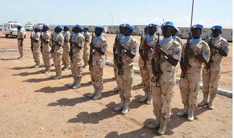 Contribution des Forces Armées Nationales au maintien de la paix: 20 ans d'expérience, plus de 8000 militaires déployés et  11 pertes en vies humaines