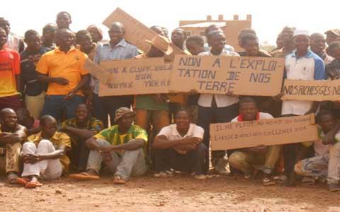 Orpaillage à Gambo: ''Qui en veut à notre colline d'or''?