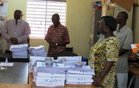 Examens 2013: le Pr Moussa Ouattara fait le point des préparatifs