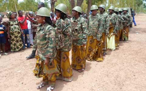 Garnison de Dédougou: 11 couples régularisent leur situation matrimoniale