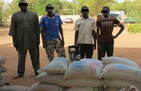 Contrefaçon de riz et de ciment: La police met fin aux activités illicites de Tasséré Ouédraogo, son fils et ses employés