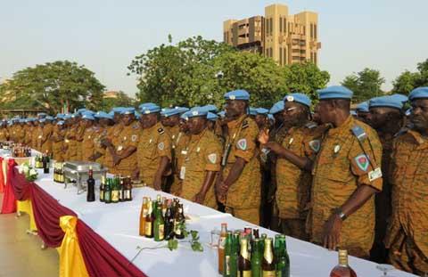 Maintien de la paix: l'Armée souhaite la bienvenue à ses éléments