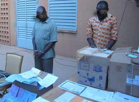 Délinquance à Ouagadougou: Ils se faisaient passer pour des officiers de police détachés au marché de Rood-Woko