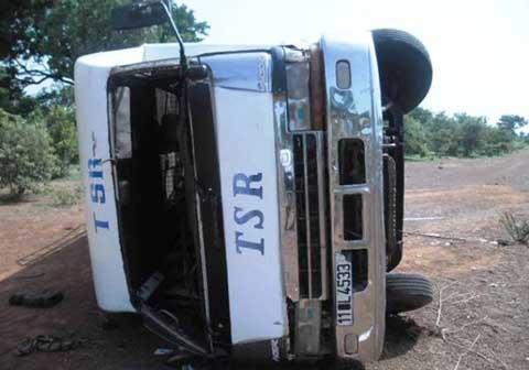 Sissili: un accident de circulation fait plusieurs blessés dont trois graves