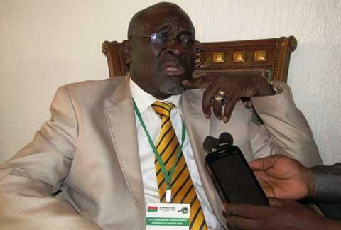 André Moïse Traoré-Nignan, représentant de la majorité politique: «Nous sommes en partie comptables des difficultés que connait l'enseignement supérieur»