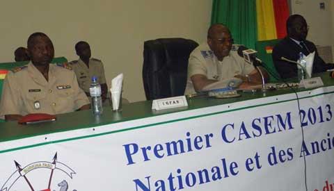 CASEM du ministère de la Défense: Le budget programme au menu
