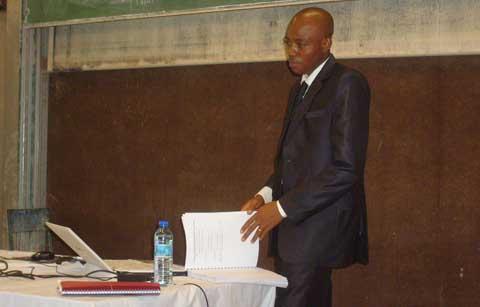 Thèse de doctorat en chimie: mention très honorable pour Brahima Sorgho