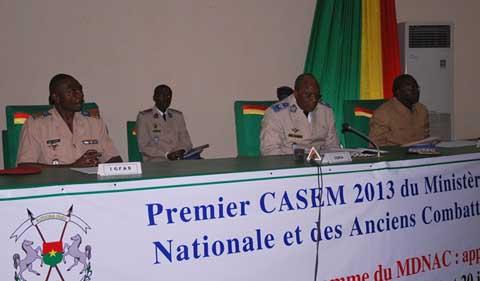 CASEM du ministère de la Défense: L'appropriation des mécanismes d'élaboration du budget programme, désormais un acquis pour la «grande muette»