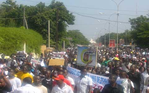Journée nationale de protestation à Bobo-Dioulasso: «La peur à changé de camp» dixit le député Amadou Sanou.
