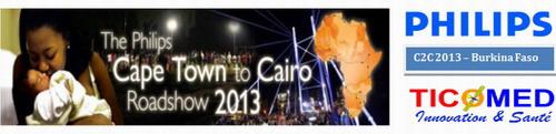 Caravane panafricaine Philips du «Cap au Caire»: L'étape de Ouagadougou…
