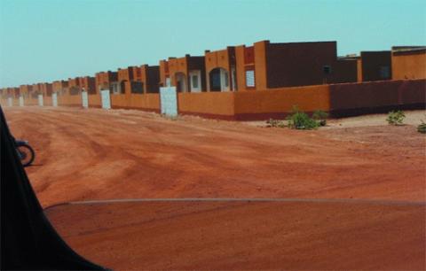 communiqué: Tirage au sort du projet des 1500 logements sociaux construits à Bassinko en 2013