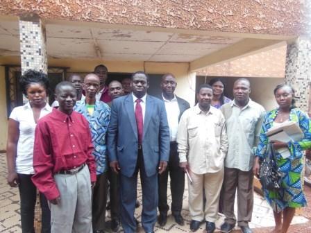 Conseil régional des Hauts-Bassins: Alfred Sanou sollicite le soutien de l'Express du Faso