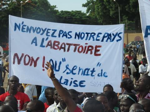 Burkina Faso: Le désespoir et la peur