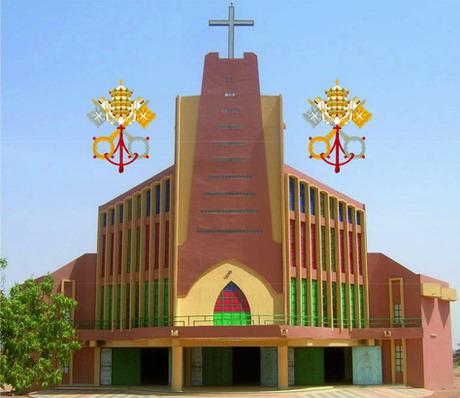 Assomption 2013: Erection de l'église Notre Dame de Yagma en Basilique mineure