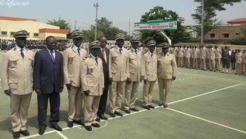Douane: 216 nouveaux agents prêts à servir dans l'intégrité
