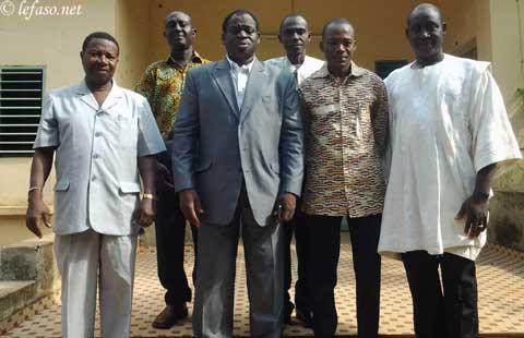 Conseil régional des Hauts-Bassins: Alfred Sanou entre visites et soutien à des représentants burkinabè aux jeux de la Francophonie