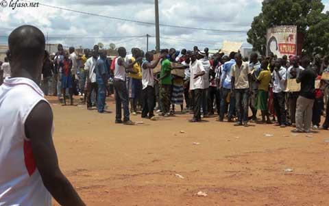 Ouagadougou: chaude matinée à Kilwin