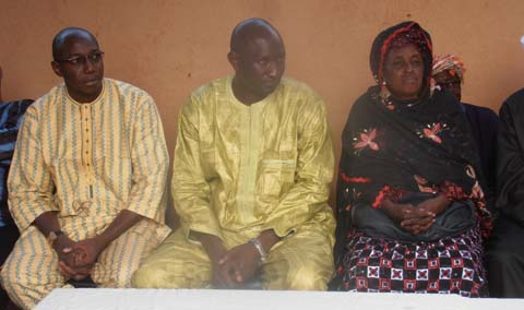 Meeting de remerciement de l'URD: L'émissaire de Soumaïla Cissé à Bobo-Dioulasso