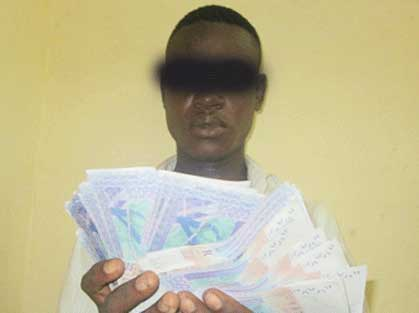 Koudougou: 472.000 F CFA en faux billets saisis auprès d'un jeune de 21 ans