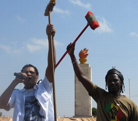 Le Balai citoyen se structure: objectif, terminus pour Blaise Compaoré en 2015