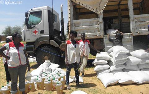 Oudalan: La Croix-Rouge vole au secours des populations rurales