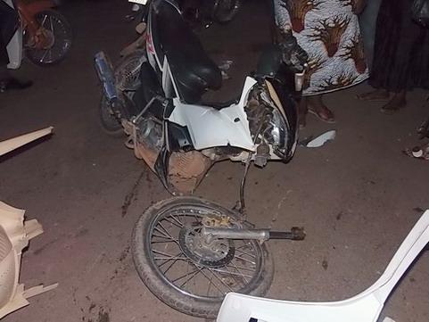 Incivisme dans la circulation routière à Ouagadougou: un accident spectaculaire sur l'axe Ouaga- Kaya