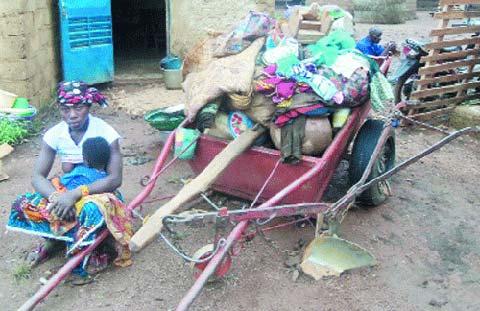 Inondations dans la commune de Karangasso-Vigué: Plusieurs dizaines de sans-abris