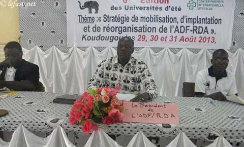 Universités d'été de l'ADF/RDA: Un cadre d'information et de formation