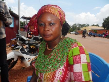 Evelyne  Ouédraogo/ Hien, restauratrice:  «Les femmes Burkinabès savent bien faire du foutou»