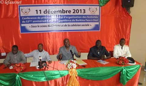 Commémoration du 53è anniversaire de l'indépendance du Burkina: Plus de quinze milliards et demi mis à la disposition du comité d'organisation