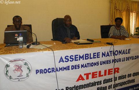Atteinte des OMD: Les parlementaires du Burkina entendent accélérer le processus