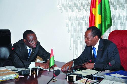 Beyon Luc Adolphe Tiao, premier ministre du Burkina Faso, «une démocratie qui marche bien» (2/2)