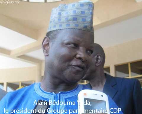 Journées parlementaires du Groupe CDP à Bobo: «On peut ne pas nous aimer, mais on ne peut pas ne pas voir  ce qui existe…», dixit Alain Bédouma Yoda