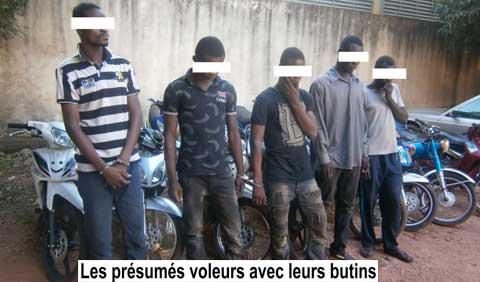 Bobo: Des présumés voleurs et un faux militaire ''gourounga'' aux arrêts