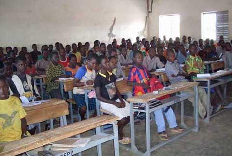 Rentrée scolaire au Burkina Faso