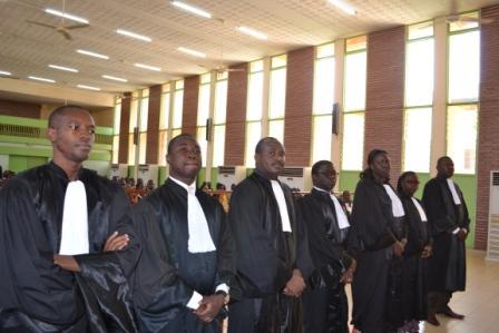 Tribunal de grande instance de Ouagadougou: Les nouveaux magistrats ont porté leur toge