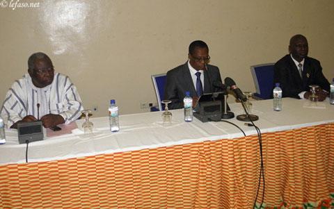 Assemblée nationale: «Nous voulons tout faire à la hauteur et à la dignité du député», dixit Soungalo Appolinaire Ouattara